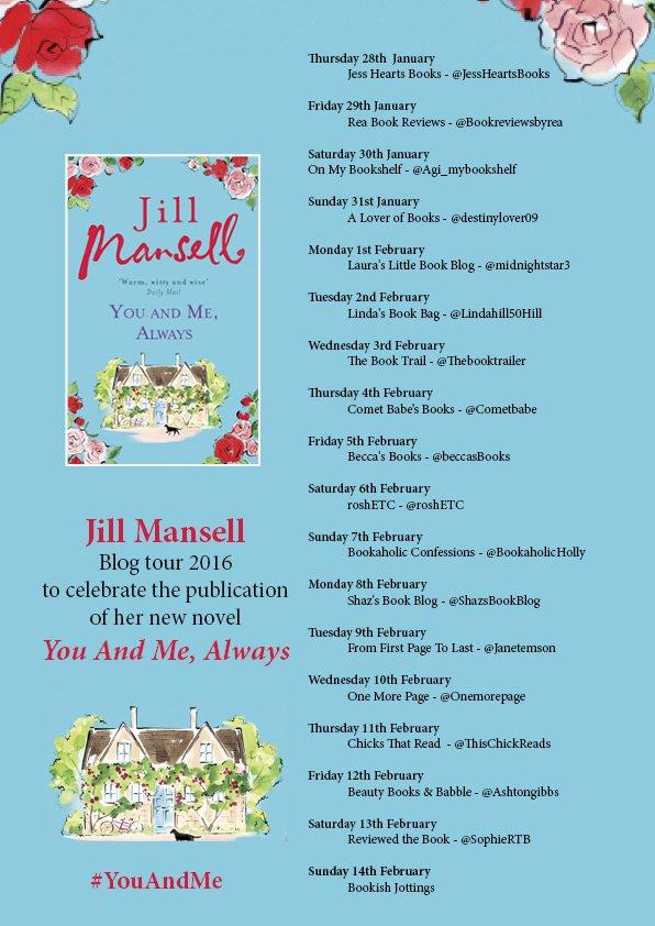 Jill Mansell Blog Tour